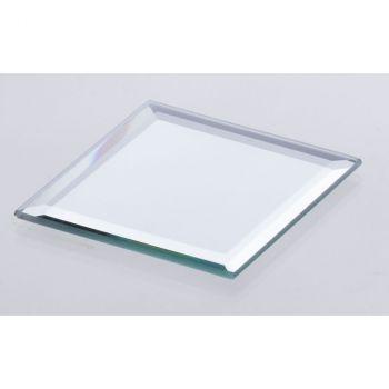 Assiette miroir carrée 10cm