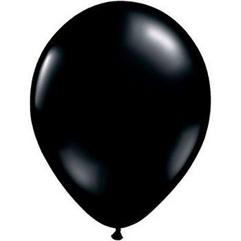 Ballon latex noir 28cm
