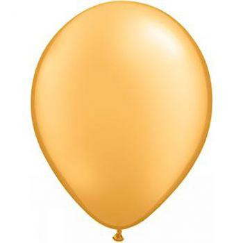 Ballon latex or métallisé 28cm