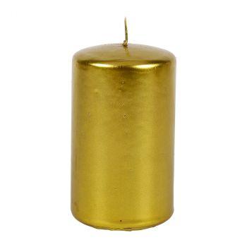 Bougie dorée 10cm