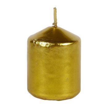 Bougie dorée 5cm