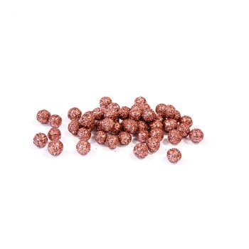 Boule décoratives pailletées rose gold 10gr