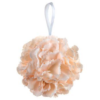 Boule fleurs corail D17cm
