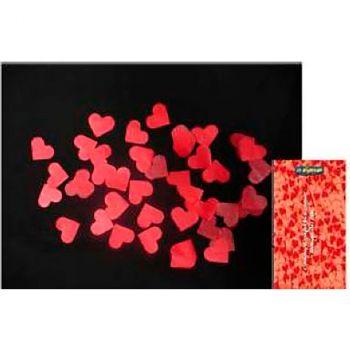 Canon à confettis cœur rouge 60cm