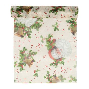 Chemin de table Santa Claus 30cmx5m
