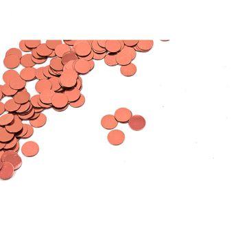 Confettis rond rose gold 10gr