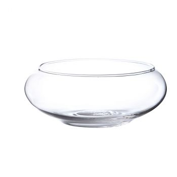 Coupe en verre verona 8cm - D19,5cm