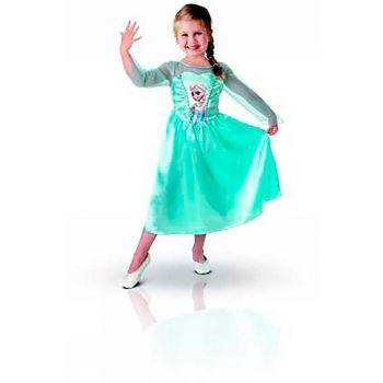 Déguisement fille Elsa Frozen 3/4 ans
