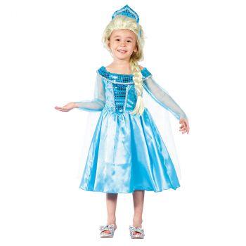 Déguisement fille Winter Princesse 3/4 ans