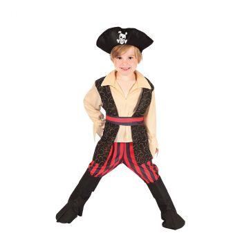 Déguisement garçon pirate Rocco 3/4 ans