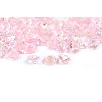 Diamants décoratifs rose 60gr