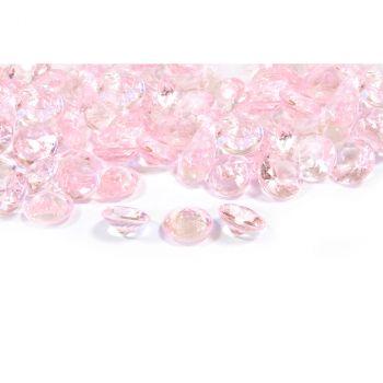 Diamants décoratifs rose 60gr