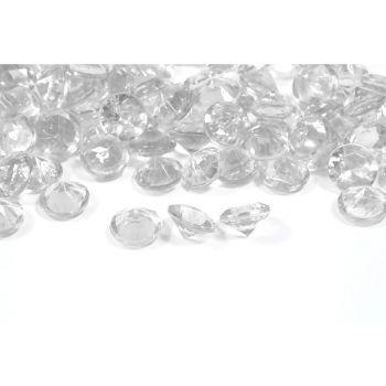 Diamants décoratifs transparent 60gr