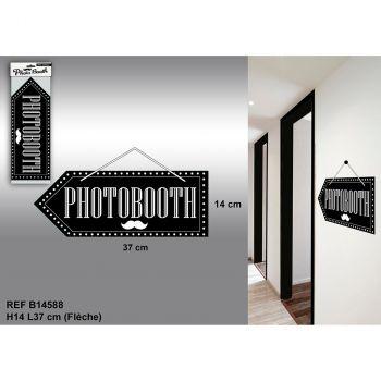 Flèche direction photobooth