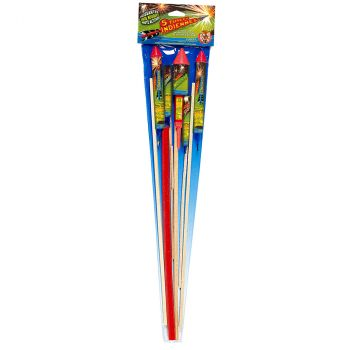 Lot de 5 fusées rocket F2