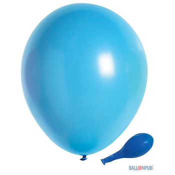 Lot de 50 ballons bleu latex 25cm