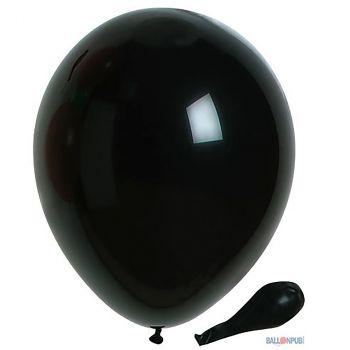 Lot de 50 ballons noir  latex 25cm