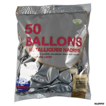 Lot de 50 ballons rose latex 30cm