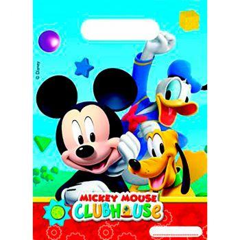 Lot de 6 sacs cadeaux Mickey