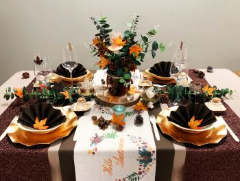 Table Mariage Automne