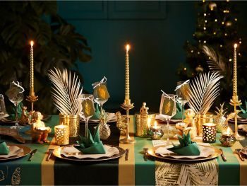 Table Noël Jungle