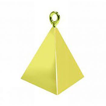 Poids pyramide or