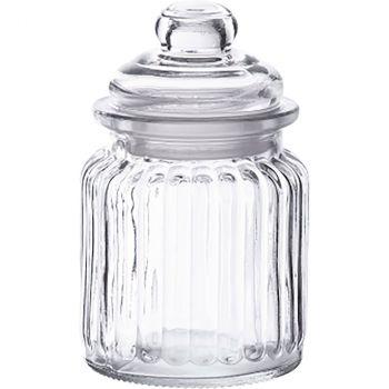 Pot vintage en verre 12,5x8cm 0,28L