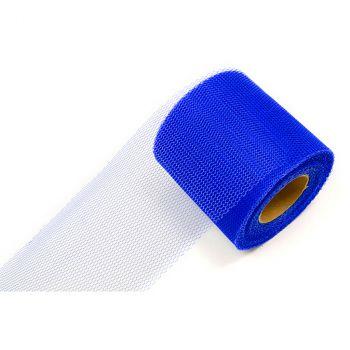 Rouleau de tulle uni bleu roi 8cmx20m