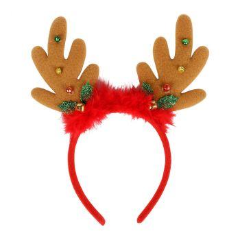 Serre-tête renne de Noël