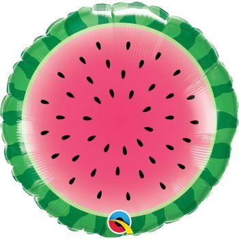 Ballon aluminium 18 pouces melon rond
