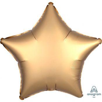 Ballon aluminium étoile or 43cm