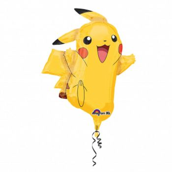 Ballon aluminium Pikachu 78cm
