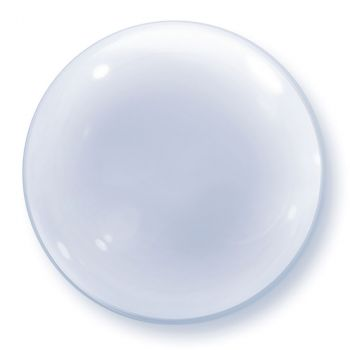 Ballon Bubble transparent 24 pouces