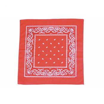 Bandana classique rouge