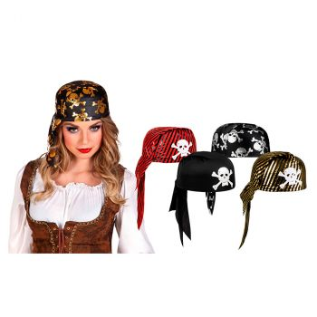 Bandana pirate 5 modèles au choix