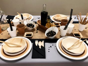 Table Black and Kraft