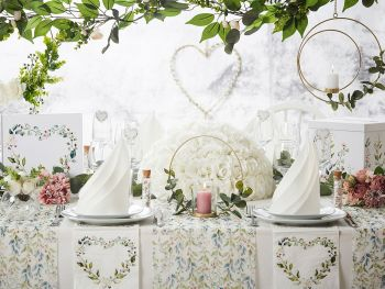 Table Boho Fleuri