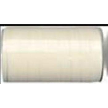 Bolduc laque 50mx10mm blanc