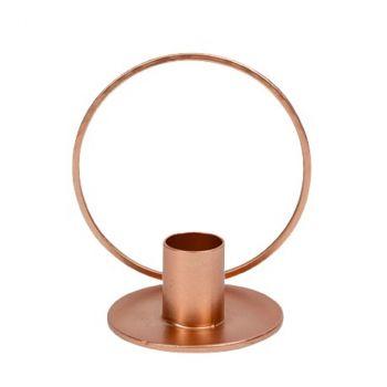 Bougeoir vibes rose gold  Ø10cm x 9.5cm (hauteur)