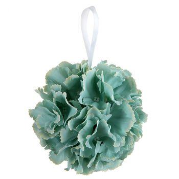 Boule fleurs menthe D11cm