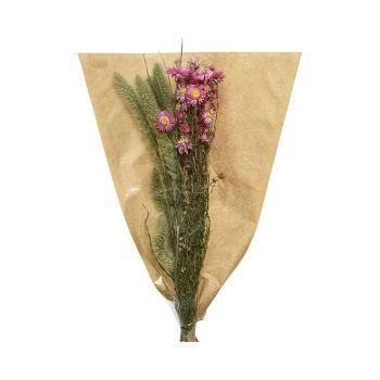 Bouquet fleur séchée 50cm
