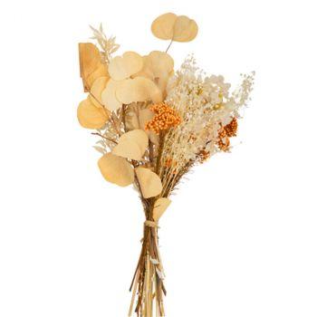 Bouquet fleur séchée suzanne 40cm