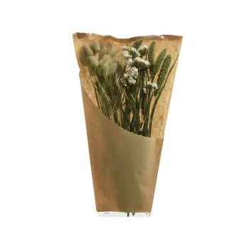 Bouquet fleurs séchées naturelles 45cm