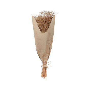 Bouquet lin 60cm naturel