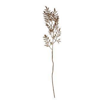 Branche pailletée 65cm cuivre