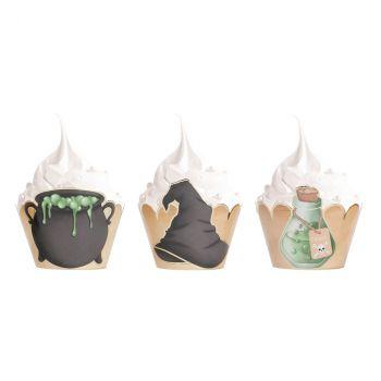 Caissette cupcake sorcier x6