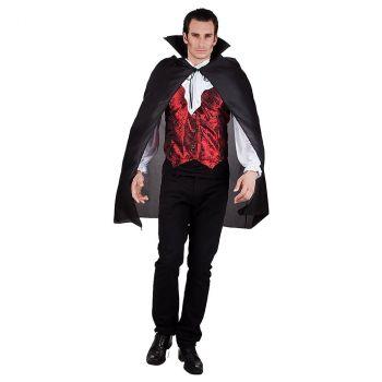 Cape bloodlust halloween noir 120cm