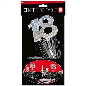 Centre de table 18 ans