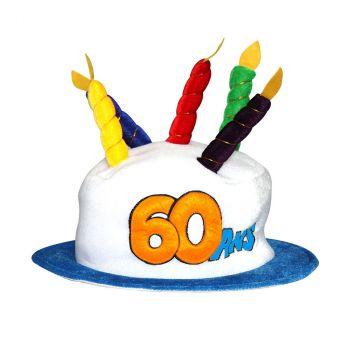 Chapeau d'anniversaire 60 ans