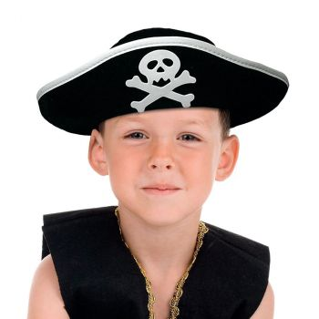 Chapeau enfant pirate